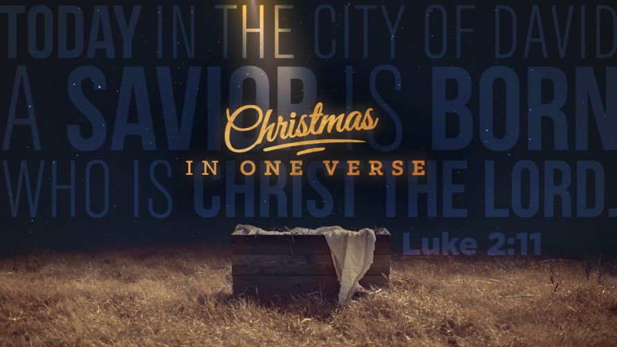Christmas in One Verse