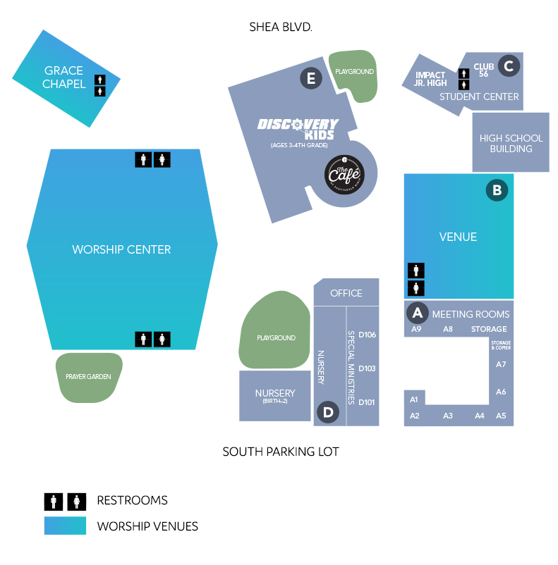 Shea Campus Map Scottsdalebible Com Scottsdalebible Com